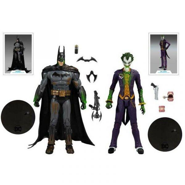 McFarlane Toys DC MULTIVERSE  蝙蝠俠阿卡漢瘋人院 GREEN GOO 蝙蝠俠&小丑 2入組可動模型 McFarlane,Toys,DC,MULTIVERSE,蝙蝠俠,阿卡漢瘋人院,GREEN GOO,蝙蝠俠,小丑,2入組,可動模型,