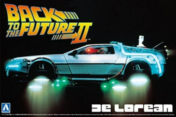 AOSHIMA 1/24 回到未來 Back To The Future  DeLorean II 組裝模型 AOSHIMA,1/24,回到未來,Back To The Future,DeLorean II