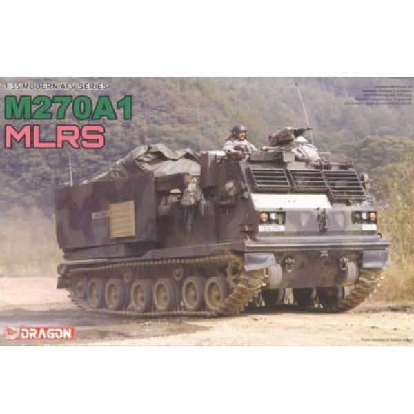威龍 DRAGON 1/35 現代AFV系列 M270A1 MLRS 多管火箭發射系統 威龍 DRAGON , 組裝模型,