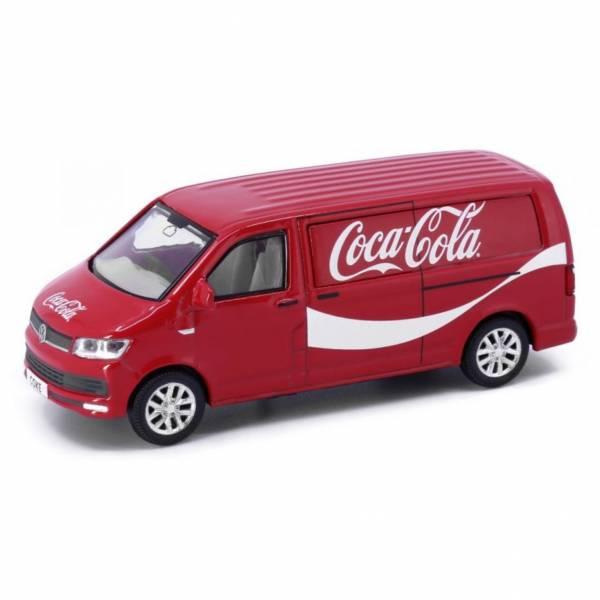 TINY TinyCity 可口可樂 福斯 T6 Transporter 合金車 TINY,TinyCity,可口可樂,福斯,T6,Transporter,合金車,