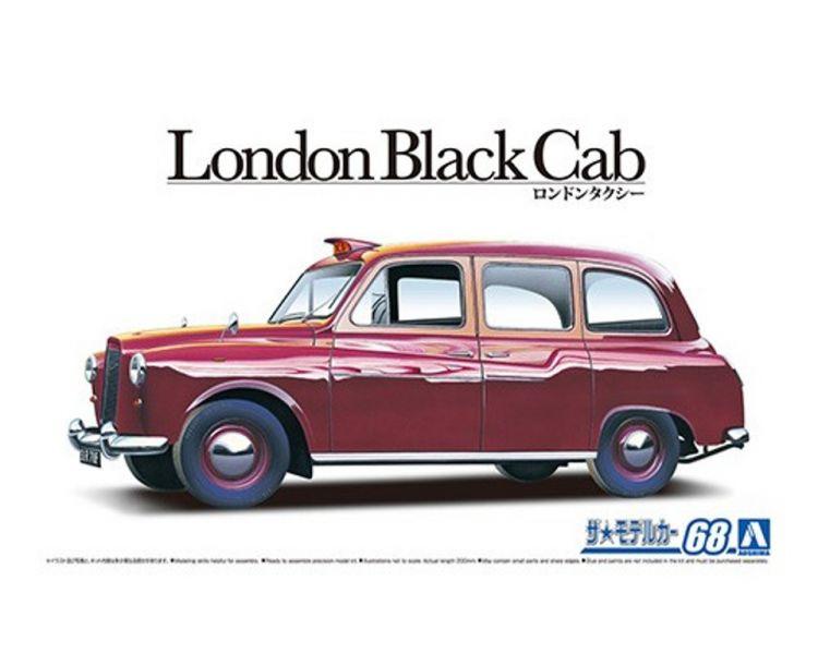 AOSHIMA 青島 1/24 #68 FX-4 '68 倫敦出租車 組裝模型 AOSHIMA,青島,1/24,#,68,FX,-,4,',68,倫敦,出租車,組裝,模型,