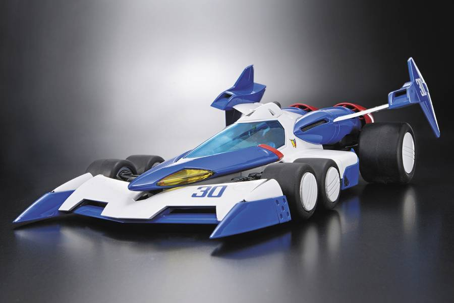 AOSHIMA 1/24 閃電霹靂車 NO.24 超級阿斯拉01 付初回特典 組裝模型 AOSHIMA,1/24,閃電霹靂車,NO.24,超級阿斯拉01,付初回特典,組裝模型,