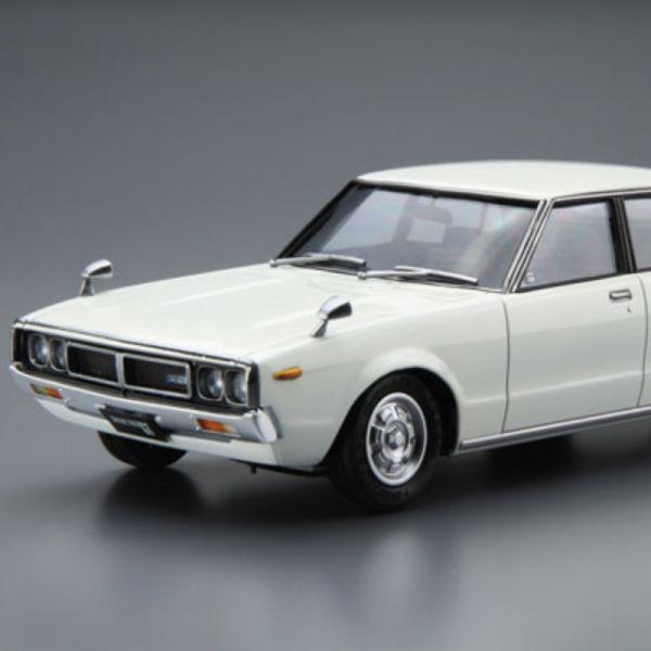AOSHIMA 青島 1/24 模型車 #47 日產Skyline GC110 2000GT '72 組裝模型  AOSHIMA,青島,1/24,模型車,#47,日產Skyline,GC110 2000GT '72,組裝模型,
