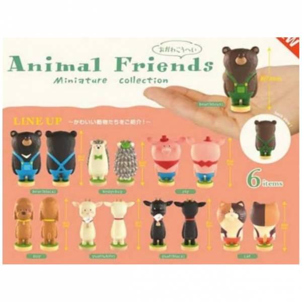 Kenelephant 扭蛋 小川耕平 動物好友們公仔 全6種販售  Kenelephant,扭蛋,小川耕平,動物好友們公仔,全6種販售,