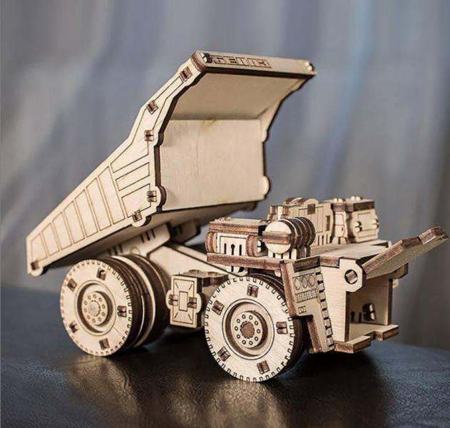 Ethne 白俄羅斯 EWA 巨無霸採礦車 MINI 木頭組裝模型 Ethne,質木模型,白俄羅斯,EWA,木頭組裝模型,砂石車,巨無霸採礦車 MINI