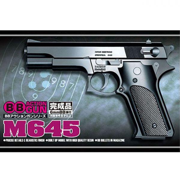青島 BB槍 No.5 M645 更新包裝版本 完成品模型 AOSHIMA AOSHIMA,BB槍,No.5,M645,新包裝