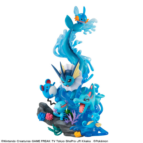 MegaHouse G.E.M.EX 水屬性寶可夢 DIVE TO BLUE PVC [,即將發售,請點,貨到通知,],MegaHouse,G.E.M,EX,水屬性,寶可夢,DIVE TO BLUE,PVC,