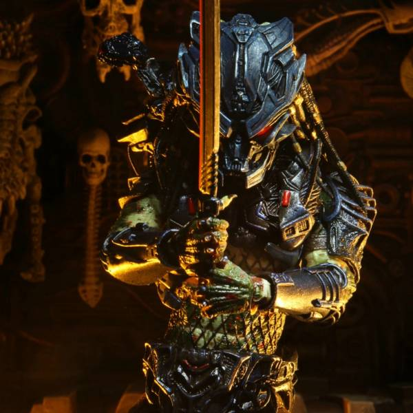 NECA 1990終極戰士2 Ultimate Armored Lost Predator 7吋 可動公仔 NECA,終極戰士,Ultimate,Armored Lost Predator