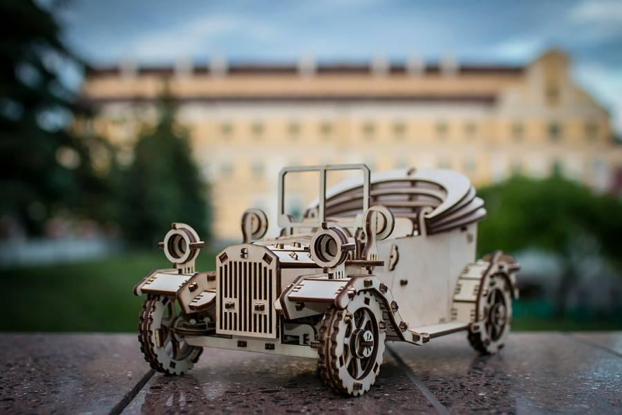 Ethne 白俄羅斯 EWA 德式經典老爺車 木頭組裝動力模型 Ethne,質木模型,白俄羅斯,EWA,木頭組裝動力模型,老爺車