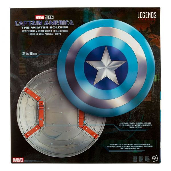 Hasbro 孩之寶 漫威 MARVEL 美國隊長盾牌 夜襲版  Hasbro,孩之寶,漫威,MARVEL,美國隊長,盾牌,夜襲版,