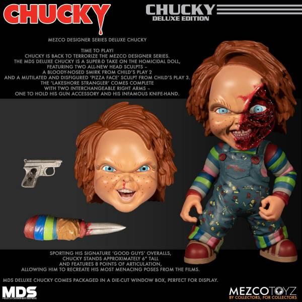 MEZCO TOYZ  Desinger Series 恰吉 Chucky 豪華組 MEZCO TOYZ ,Desinger Series,恰吉,Chucky