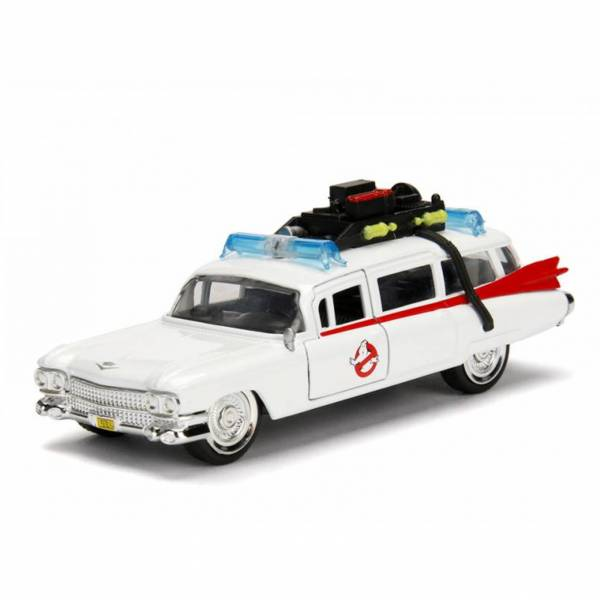 JADA 1/32 Hollywood Rides 魔鬼剋星Ghostbusters 抓鬼車 ECTO-1 合金完成品 JADA,Metals,1/32,Hollywood Rides,魔鬼剋星 抓鬼車,Ghostbusters,Ecto 1