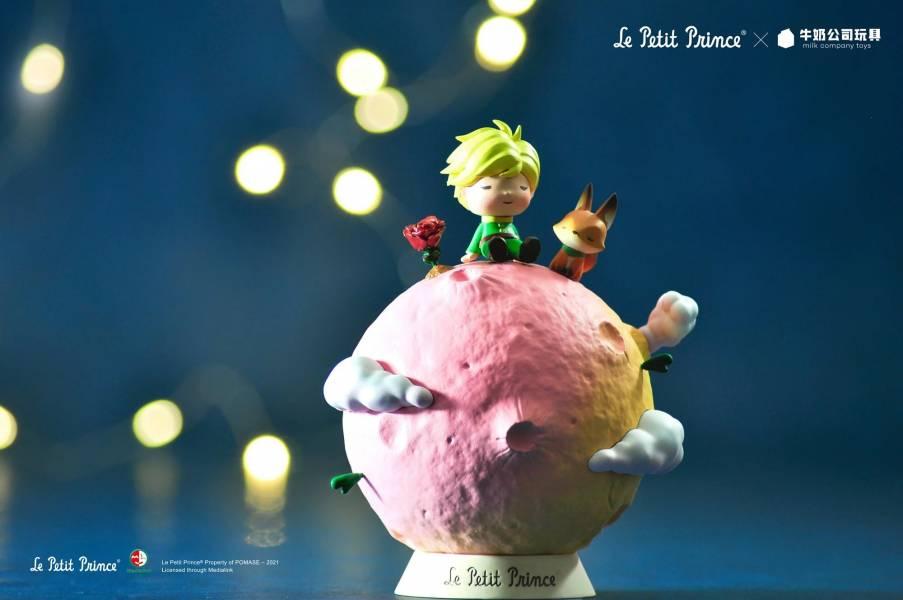 牛奶玩具 小王子 第七棉花糖星球 搪膠軟膠 靜態完成品 牛奶玩具,小王子,第七棉花糖星球,搪膠軟膠,靜態完成品,