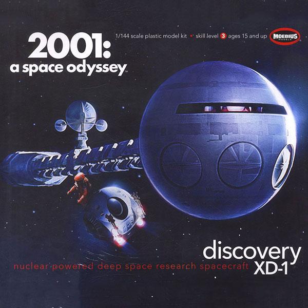 Moebius Model 1/144 2001太空漫遊 發現號Discovery 組裝模型 Moebius Model,1/144,2001太空漫遊,發現號Discovery