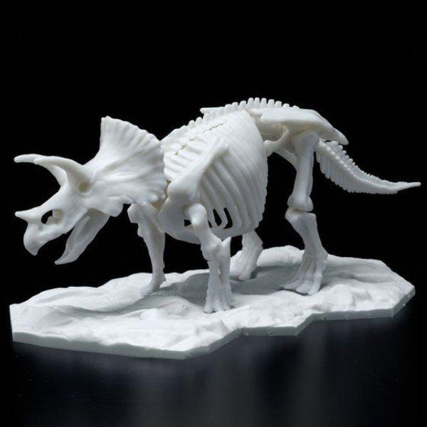 BANDAI LIMEX恐龍骨骼 恐龍組裝模型 三角龍 組裝模型 BANDAI,LIMEX骨骼,恐龍組裝模型,三角龍,組裝模型,恐龍骨骼