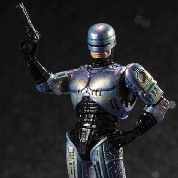 Hiya Toys 1/18 4吋 機械戰警2 機械戰警 可動完成品 Hiya Toys,1/18,精緻迷你系列,機器戰警2