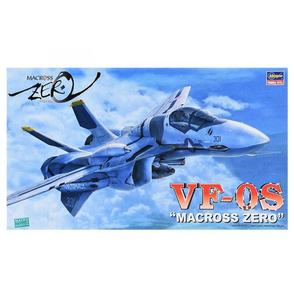 [再販] HASEGAWA 1/72 超時空要塞Zero VF-0S 指揮官機S型 戰鬥機模式 組裝模型 1/72 超時空要塞ZERO  VF-0