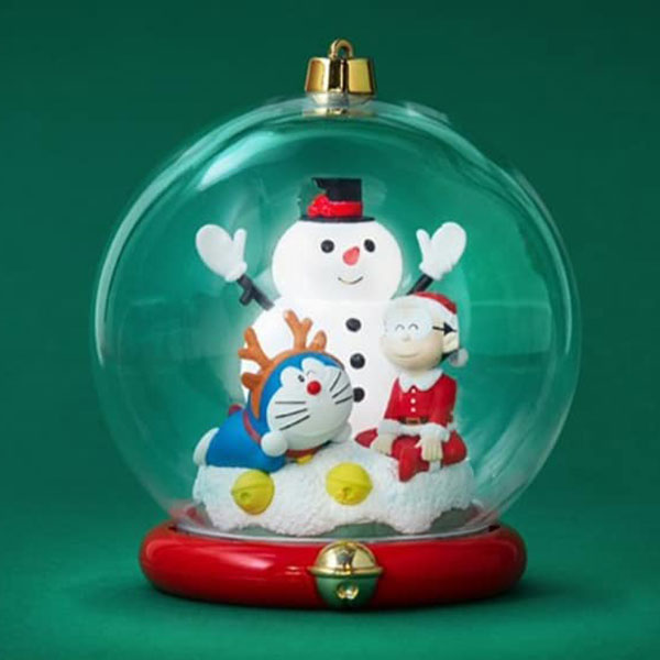 Macott Station 哆啦a夢 聖誕水晶球 B款 雪人 Macott Station,哆啦a夢,聖誕水晶球,雪人