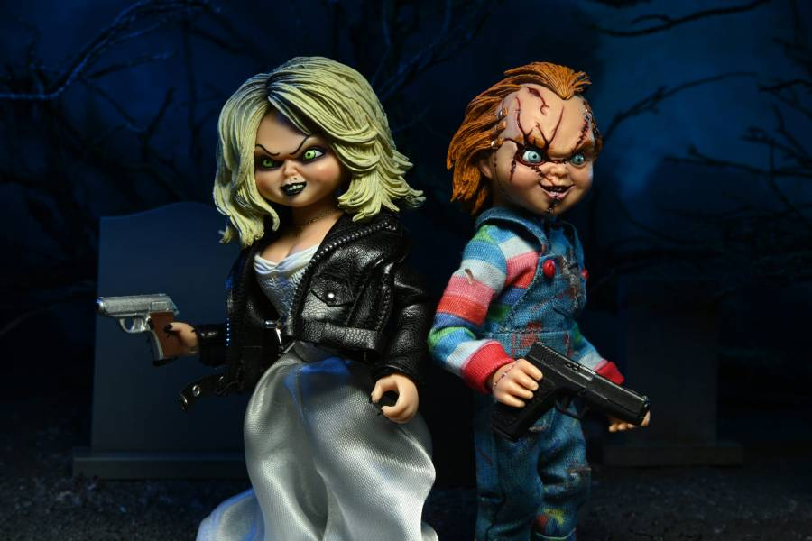 NECA 5.5吋 恰吉 Chucky & Tiffany 2入組 可動完成品 NECA,5.5吋,恰吉,Chucky,&,Tiffany,2入組,可動完成品,