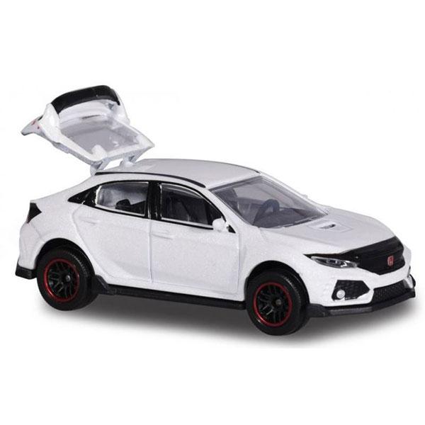 Majorette 1/64 本田Honda Civic ype R 白色 合金完成品 Majorette,1/64,本田,Honda Civic ype R