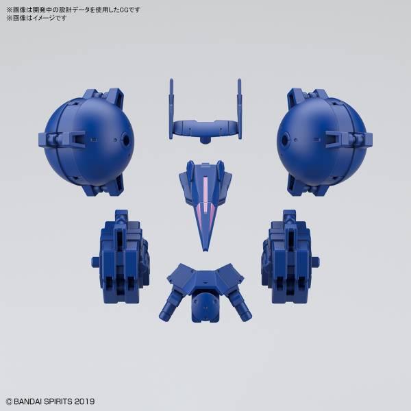 BANDAI 1/144 30MM #27 b高機動型選配式裝甲 歇爾諾瓦用 藍色 組裝模型 BANDAI,1/144,30MM,#27,b高機動型選配式裝甲,歇爾諾瓦用