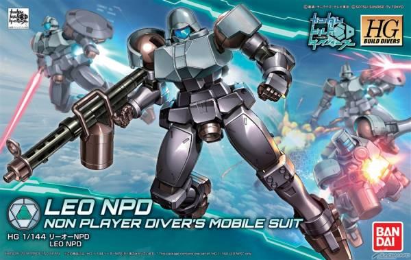 HGBD 1/144 里歐NPD 鋼彈創鬥者 潛網大戰 鋼彈創鬥者,潛網大戰,里歐