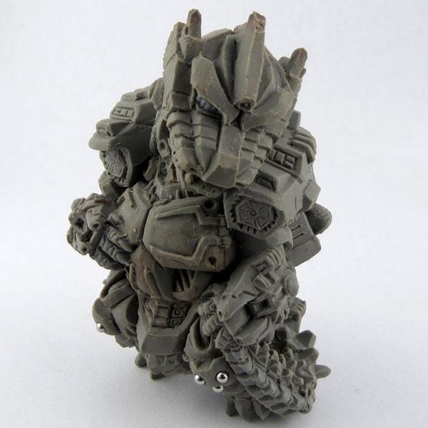 Chara-ani 哥吉拉 東寶怪獸造型根付 機械哥吉拉 Chara-ani,哥吉拉,東寶怪獸造型根付,機械哥吉拉