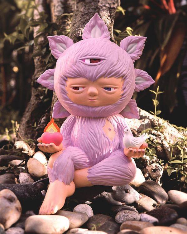 Mighty Jaxx Baby Beyond by Alex Face 粉紅版 Mighty Jaxx,挑食者,小丑,龍江唐伯虎,Picky Eaters: The Clown Po Yun Wang,麥當勞叔叔