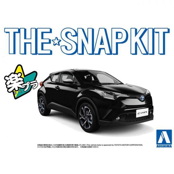 [免塗裝免膠水] AOSHIMA 1/32 豐田Toyota C-HR SUV 黑色 組裝模型 AOSHIMA,青島,1/32,豐田,Toyota C-HR,SUV,黑色