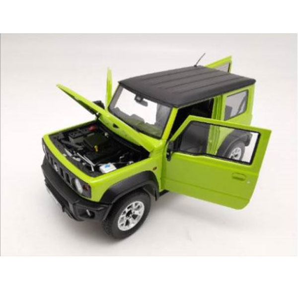 LCD model 1/18 鈴木Suzuki Jimny 越野車 動力黃 LCD model,1/18,鈴木Suzuki,Jimny,越野車,動力黃