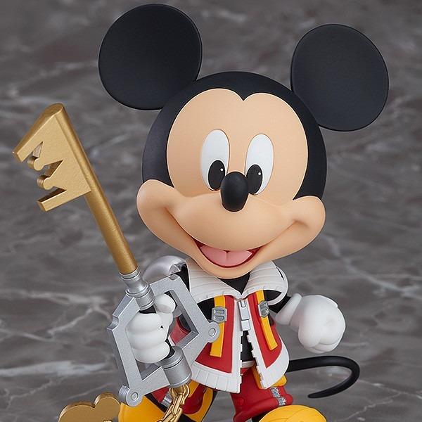 [日版] GOOD SMILE 黏土人 國王米奇 #1075 王國之心2 King Mickey 日版,GOOD SMILE,黏土人,#1075,王國之心2,King Mickey