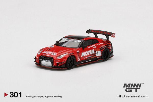 MINIGT 1/64 日產 GT-R R35 Type2 RearWing MOTUL 右駕 MINIGT,1/64,日產,GT-R,R35,Type2,RearWing MOTUL 右駕,