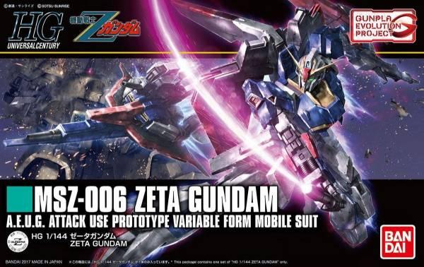 HGUC 1/144 #203 40周年紀念第1彈 MSZ-006 Z鋼彈 ZETA GUNDAM HGUC,1/144,Z鋼彈,ZETA
