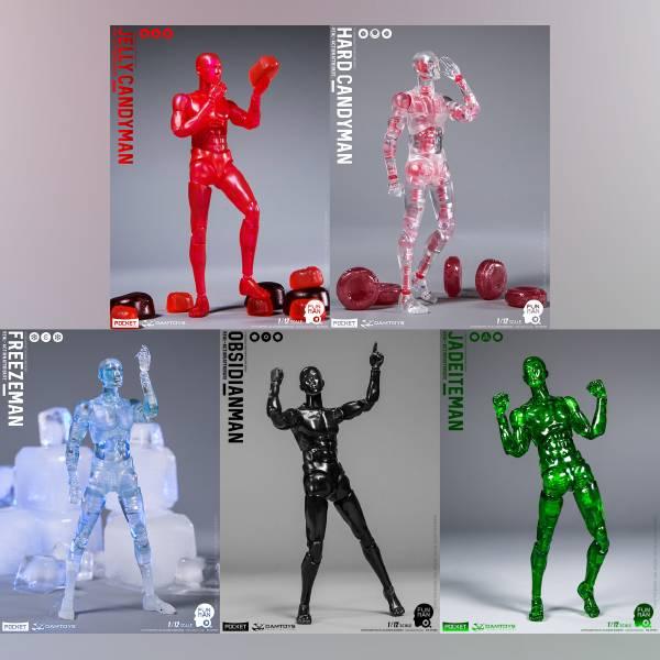 DAMTOYS 1/12 趣人系列 DPS03-07 可動完成品 全5種 分別販售  DAMTOYS,1/12,趣人系列,DPS03-07,可動完成品,全5種 分別販售,