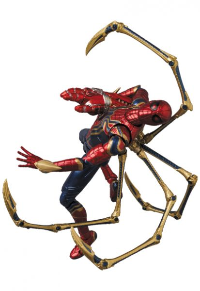 Medicom Toy MAFEX 漫威MARVEL 復仇者聯盟4 終局之戰 鋼鐵蜘蛛人 可動公仔 Medicom Toy,MAFEX,漫威,MARVEL,復仇者聯盟4 終局之戰,鋼鐵蜘蛛人