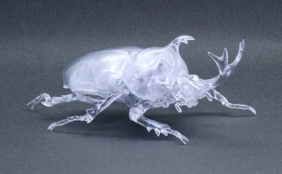 獨角仙 透明版 FUJIMI 自由研究21EX1 生物編 富士美 組裝模型 FUJIMI,自由研究,生物,獨角仙,