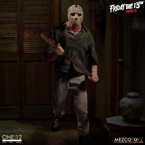MEZCO TOYZ ONE:12 十三號星期五 傑森沃西斯 面具殺人魔 十三號星期五,傑森沃西斯,面具殺人魔,MEZCO TOYZ