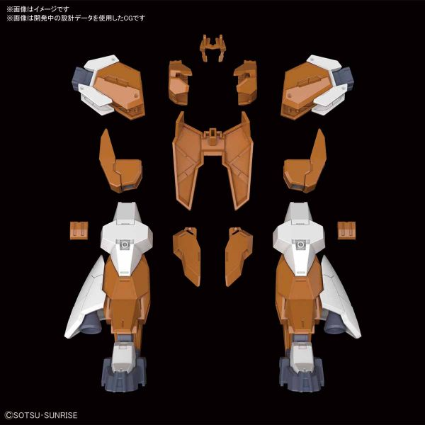 BANDAI HGBD:R 1/144 主角機新武裝組1 鋼彈創鬥者潛網大戰 組裝模型 BANDAI,HGBD:R,1/144,鋼彈創鬥者潛網大戰,主角機新武裝組1
