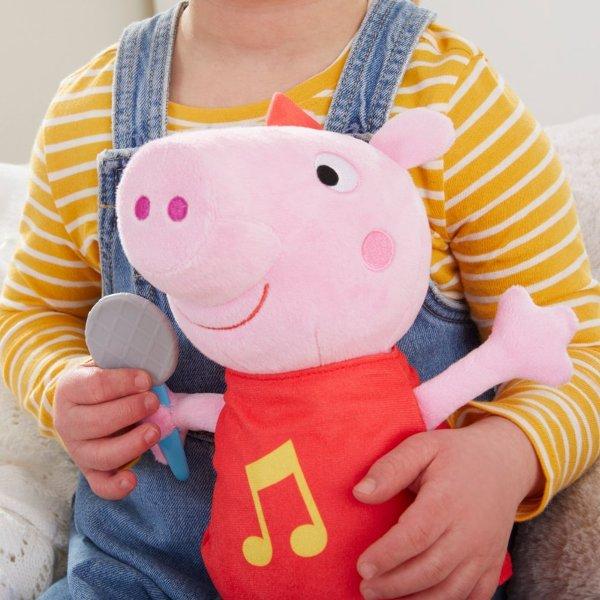 Hasbro 孩之寶 粉紅豬小妹 唱歌佩佩絨毛娃娃 Hasbro,孩之寶,粉紅豬小妹,唱歌佩佩絨毛娃娃,