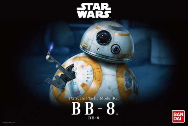 BANDAI 1/2 星際大戰 EP7 原力覺醒 BB-8 組裝模型  星際大戰,萬代,原力覺醒,BB-8