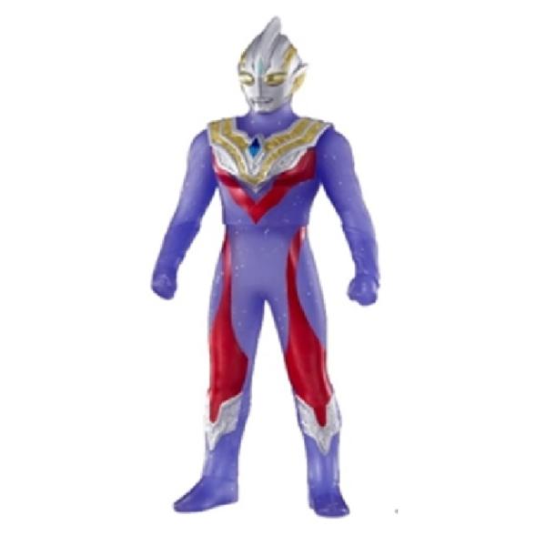 BANDAI 超人力霸王 特利卡 複合型態 限定軟膠公仔 BANDAI,超人力霸王,特利卡,複合型態,限定,軟膠,公仔,