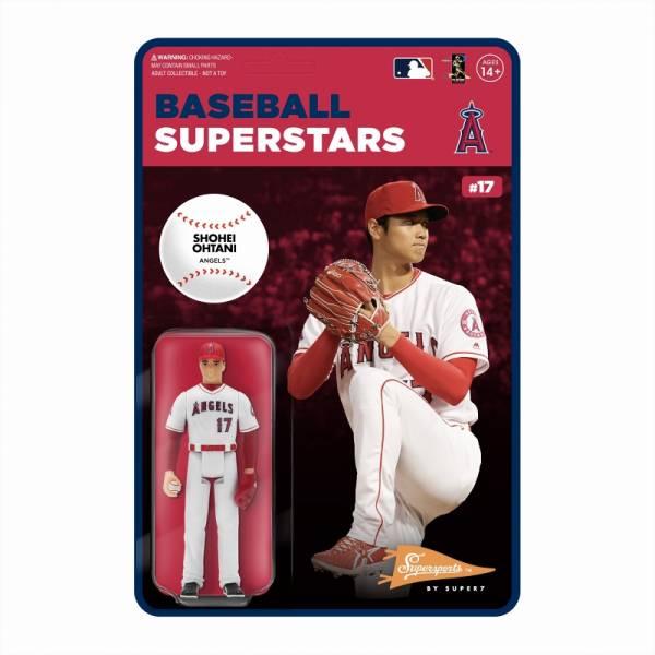 Super7 MLB 大聯盟 大谷翔平 洛杉磯天使隊 可動完成品  Super7,MLB,大谷翔平,洛杉磯天使隊,可動完成品,