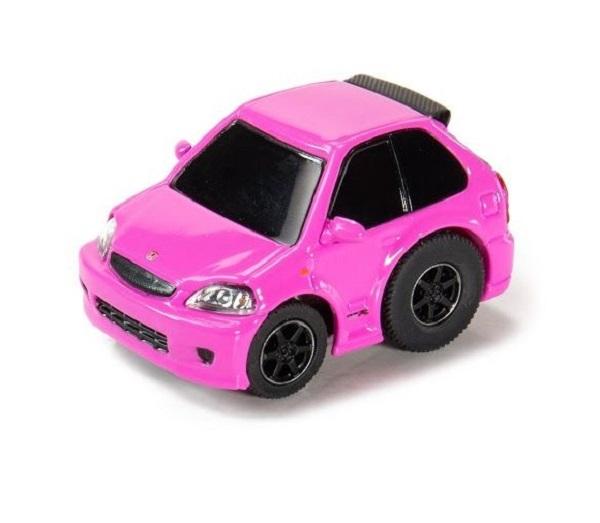 TINY Tiny Q 合金回力車 本田Honda Civic EK9 粉色 Tiny Q,合金回力車,本田,Honda Civic EK9,粉色