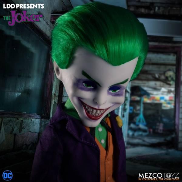 MEZCO TOYZ LDD活死人娃娃系列 DC 小丑 可動公仔 MEZCO TOYZ,BURST-A-BOX,奪魂鋸,比利,恐怖音樂盒