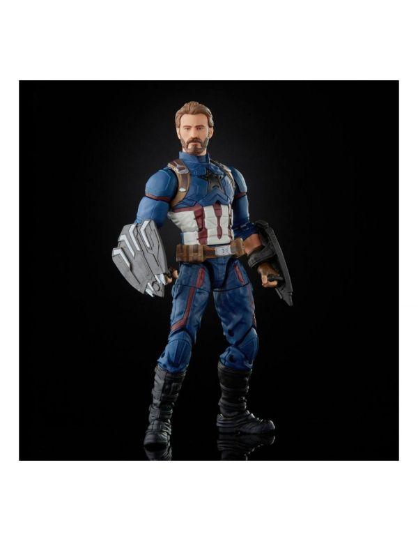 Hasbro 孩之寶 6吋 漫威 MARVEL 無限傳奇 傳奇人物 美國隊長 可動完成品   Hasbro,孩之寶,6吋,漫威,MARVEL,無限傳奇,傳奇人物, 美國隊長,可動完成品,