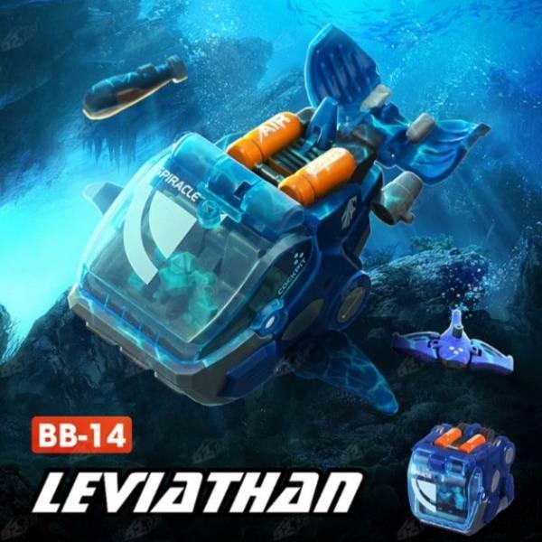 52Toys 猛獸匣 BEAST BOX 鯨魚 利維坦 LEVIATHAN BB-14 52Toys,猛獸匣,BEAST BOX,鯨魚,利維坦,LEVIATHAN,BB-14