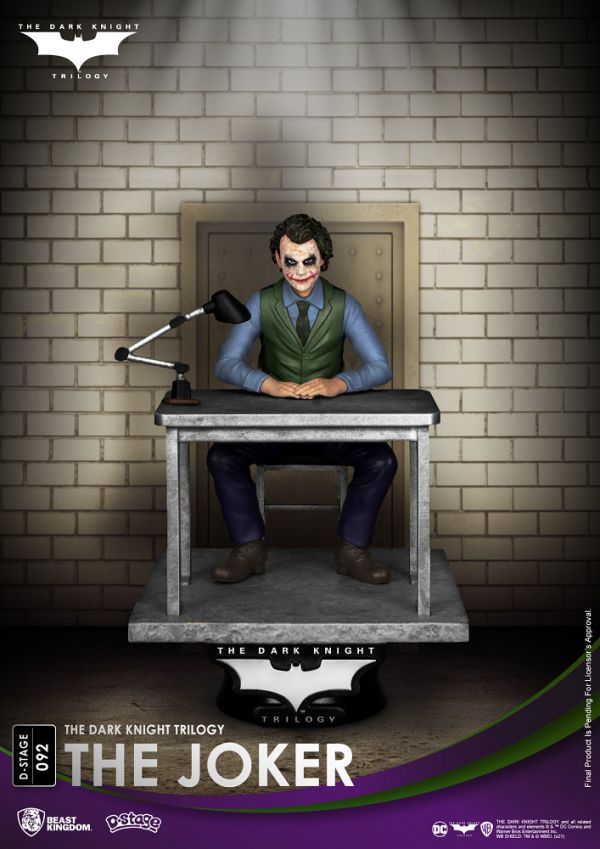 DC 夢精選 092 TDK三部曲 蝙蝠俠 黑暗騎士 小丑 靜態完成品 DC,夢精選,TDK三部曲,蝙蝠俠,黑暗騎士,小丑,靜態完成品