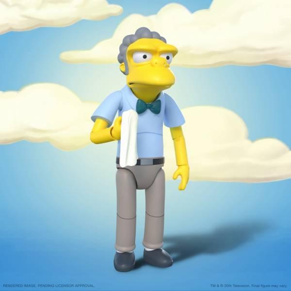 Super7 7吋 辛普森家庭 The Simpsons 老莫 Moe Szyslak 可動完成品 Super7,7吋,辛普森家庭,The Simpsons,老莫,Moe Szyslak,可動完成品,