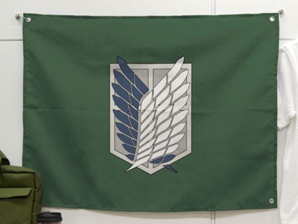 [再販] COSPA 進擊的巨人 調查兵團旗 COSPA, 進擊的巨人, 調查兵團旗