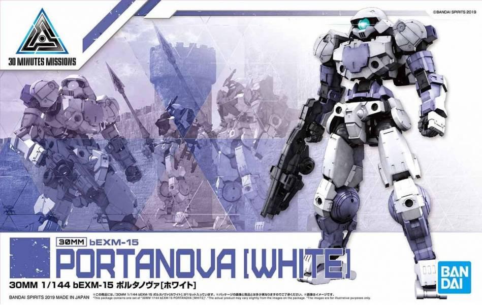 BANDAI 1/144 30MM bEXM-15 波塔諾瓦 白色 BANDAI,1/144,30MM,bEXM-15,波塔諾瓦,白色